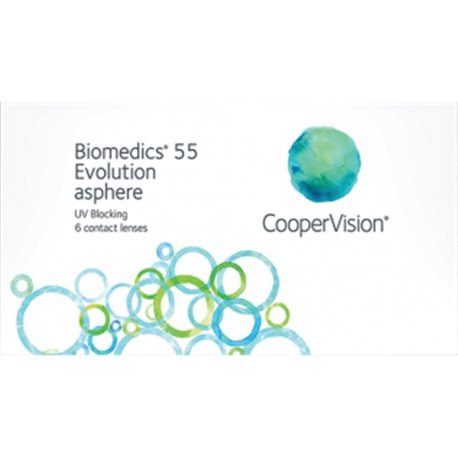 BIOMEDICS 55 EVOLUTION 6 PACK