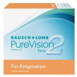 Purevision 2 HD for Astigmatism 6 stuks